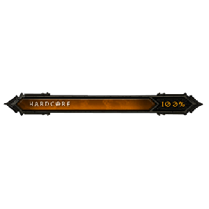 Diablo 3 Hardcore Achievements look (icon)