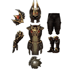 Diablo 3 Armor of Akkhan look (icons)