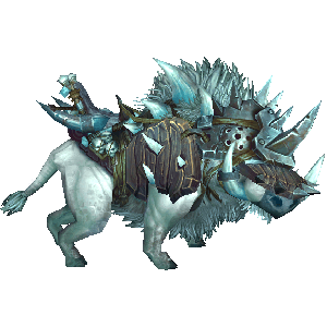 WoW Armored Frostboar (Screenshot)