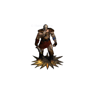 Diablo 2 Merc A5 Last Wish look (aura)