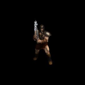 Diablo 2 Merc A5 Death look (aura)