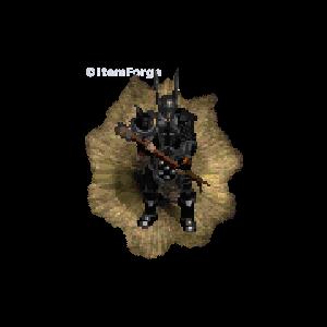 Diablo 2 Immortal King look (aura)