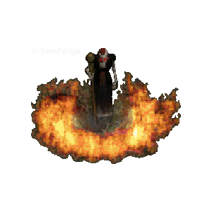 Diablo 2 Trang-Oul's Avatar look (aura)