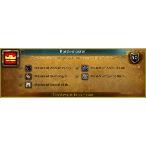 WoW Battlemaster (Screenshot)
