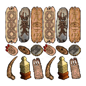 Diablo 2 Charm 91+ ilvl look (icon)