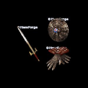 Diablo 2 Cleglaw's Brace look (icon)
