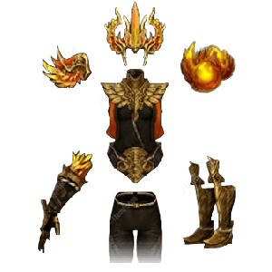 Diablo 3 Firebird's Finery look (icons)