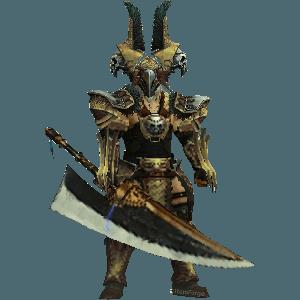 Diablo 3 Earthquake Barbarian look (gear)