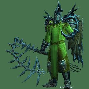 Diablo 3 Invoker Thorns Crusader look (gear)