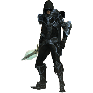 Diablo 3 Shadow Assassin Demon Hunter look (gear)