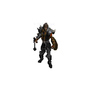 Diablo 2 Dru Elemental look (gear)