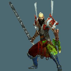 Diablo 3 Goblin Farming Monk look (gear)