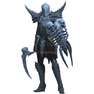 Diablo 3 Rathma's Unholy Army Necromancer look (gear)