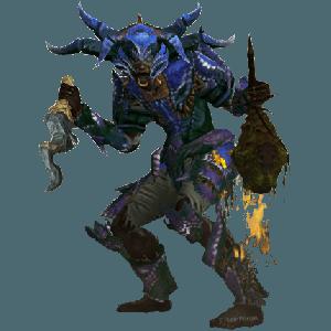 Diablo 3 Arachyr Firebats Witch Doctor look (gear)