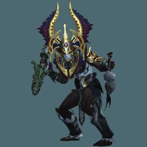 Diablo 3 Poison Dart Witch Doctor look (gear)