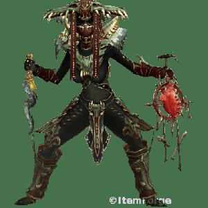 Diablo 3 Helltooth Gargantuan Witch Doctor look (gear)