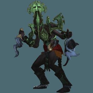 Diablo 3 Jade Harvester Witch Doctor look (gear)
