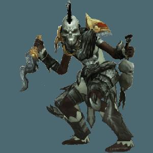 Diablo 3 Zunimassa Gargantuan Witch Doctor look (gear)