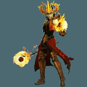 Diablo 3 Firebird's Archon Wizard look (gear)