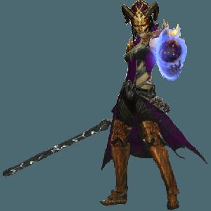 Diablo 3 Tal Rasha's SF Wizard look (gear)