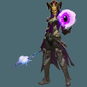 Diablo 3 Lightning Archon Wizard look (gear)
