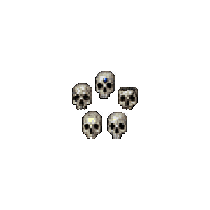 Diablo 2 Skull look (icon)