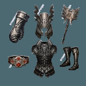 Diablo 3 Immortal King's Legend look (icons)