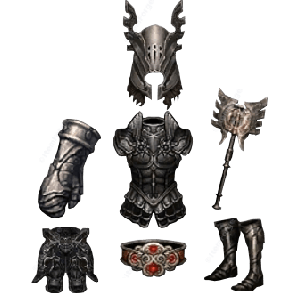 Diablo 3 Immortal King's Call look (icons)