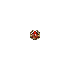 Diablo 2 Jewel MaxDmg look (icon)