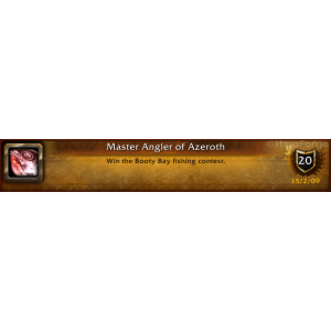 WoW Master Angler of Azeroth (Screenshot)