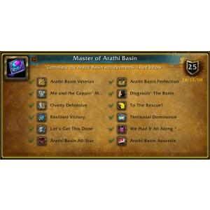 WoW Master of Arathi Basin (Screenshot)