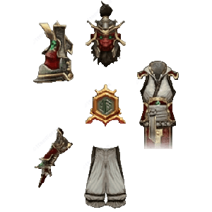Diablo 3 Monkey King's Garb look (icons)