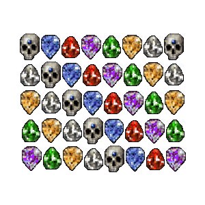 Diablo 2 40 Perfect Gems look (icon)